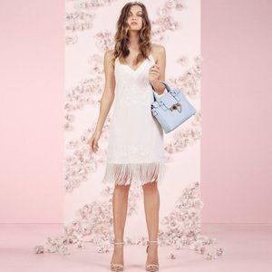 Lauren Conrad Sequin Fringe Flapper Midi Dress